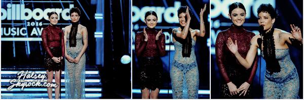 22/05/2016 • • Halsey était présente au Billboard Music Awards 2016, a Las Vegas.  Ashley n'a pas déclenché des émeutes dans sa robe signée Fausto Puglisi, c'est un gros flop pour moi. Qu'en pensez-vous ?