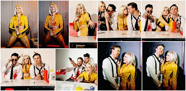 DIVERS • • Découvrez quelques photos de la soirée d'Halloween de Halsey sur le Thème : Tarentino Nights !