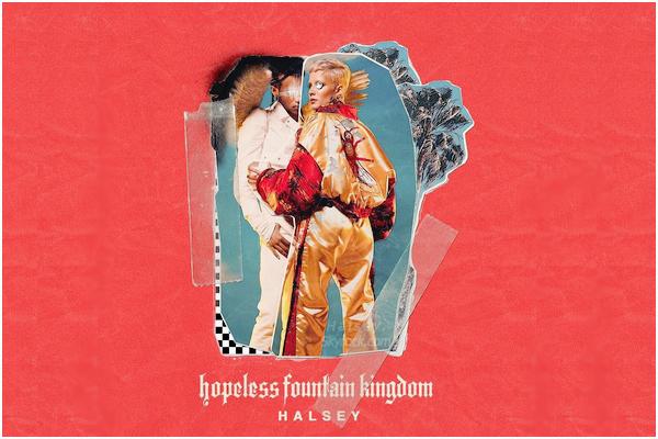 DIVERS • • Le deuxième album tant attendu de Halsey s'intitule « Hopeless Fountain Kingdom ». Prévu pour le 02.06.2017, le thème de l'album est : Loss & Love, faire des concessions pour son âme soeur, a la Roméo et Juliette.
