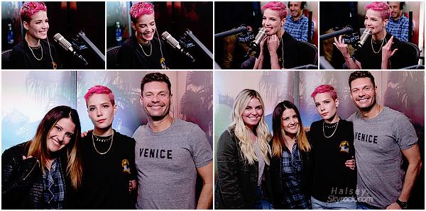 05/04/2017 • • Ashley s'est rendu au studio de Ryan Seacrest pour la promo de son single Now Or Never
