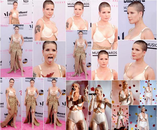 21/05/2017 • • Halsey était présente a la cérémonie des Billboard Music Awards 2017, a Las Vegas. Ashley s'est rendu au BBMA pour la deuxième fois consécutive, et c'est toujours un flop pour moi ! Elle gagne tous de même des points pour sa performance, et rentre à la maison avec un prix pour Closer, bravo !