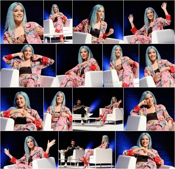 20/06/2017 • • Ashley F. s'est rendu en France, a Cannes a l'occasion du festival « Cannes Lions ».  Hals' est en France ! La miss a donné une petite interview avec R. Seacrest puis en a profité pour rencontrer ses fans à l'extérieur.