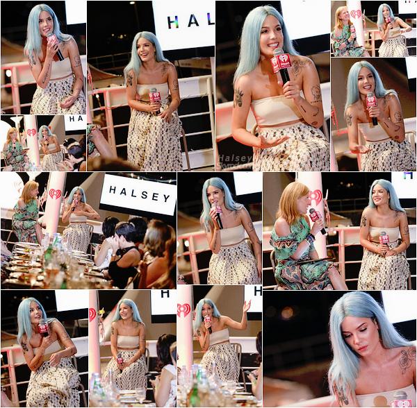 19/06/2017 • • Ashley a assister a un diner privé organiser par iHeart Radio a Cannes, en France.  Halsey s'est rendu en France pour le festival Cannes Lion qui aura lieu le lendemain, j'aime beaucoup la tenue que porte Ash, TOP pour moi !