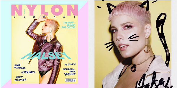 PHOTOSHOOT • •   Découvrez le photoshoot d'Ashley pour le premier magazine « Nylon Germany ».