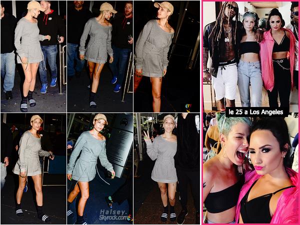 28/07/2017 • • Notre miss Ashley Frangipane a été vu arrivant a l'aéroport de Sydney en Australie.   Halsey s'est rendu en Australie à l'occasion d'un évent pop-up organisé par son équipe. 3 jours plus tot, H et Demi Lovato ont faits taire les rumeurs d'embrouilles sur les réseaux sociaux.