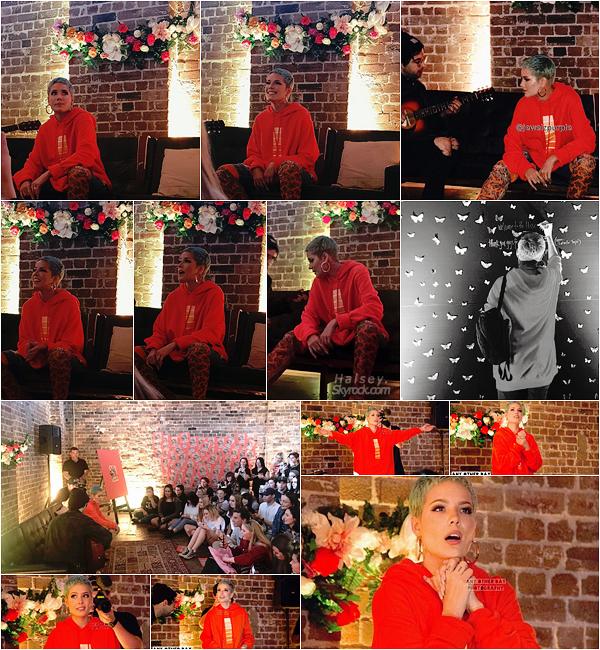30/07/2017 • • Ashley s'est rendu a évent pop-up organisé par son équipe à Sydney en Australie. Petit moment d'intimité entre la chanteuse et ses fans australiens. Ash a également annoncé que son prochain single est le titre Bad At Love !