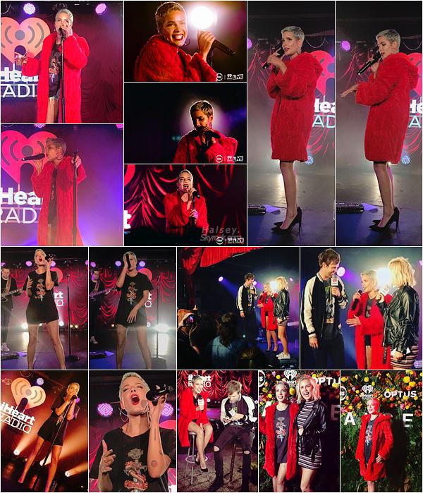 02/08/2017 • • Ashley F. s'est produite sur la scène de iHeart Radio Live à Sydney en Australie.