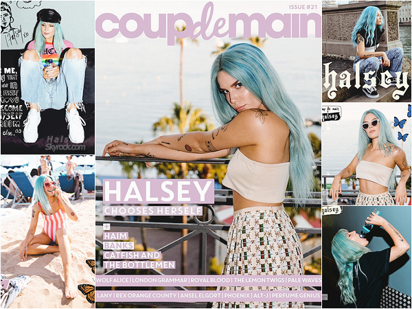 PHOTOSHOOT • • Encore un shoot de notre jolie Ashley pour le magazine « Coup De Main » !