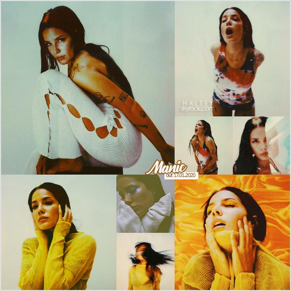 ++PHOTOSHOOTS++ // ++OCTOBRE 2019++ ———Découvrez un shoot promotionnelle de Halsey pour son album MANIC !