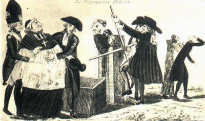 """Les Massuin avec un curé (l'abbé SWOLFS) jouant les """"Robin des Bois"""""""