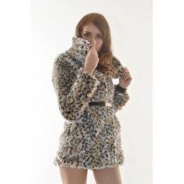Manteau léopard D.I.A