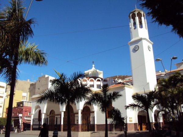 place de Los christianos ténérife