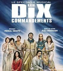 Les Dix Commandements - Les chanteurs et leurs rôles