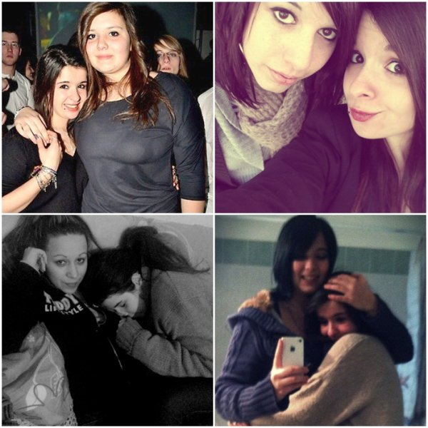 Les vrais amis t'aiment pour ce que tu es et non pour ce qu'ils veulent que tu sois. Tiffany , Chloé , Marine & Laure mon bonheur au quotidien. ♥