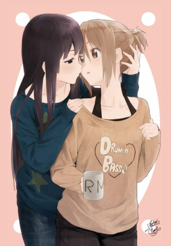 K-On Yuri (Ritsu x Mio 3) La récompence