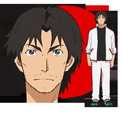 Ginga e kickoff!! Personnage : Masaru Hanashima