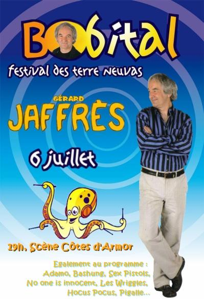 Le Festival des Terre-Neuvas 2008 c'est ce soir,avec la participation de Gérard Jaffrès :
