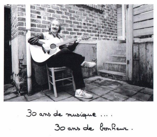 30 ans de musique...