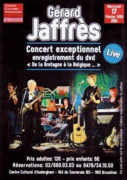 Concert exceptionnel pour l'enregistrement du DVD en Belgique