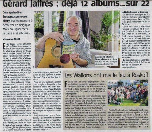 articles de presse 2012
