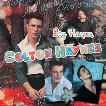 ■ Colton Haynes  -----_-----_-----_-----_-----_-----_-----_-----_-----_-----_-----■_Décoration-----■_CréationI
