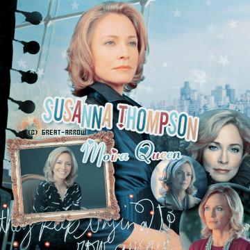 ■ Susanna Thompson  -----_-----_-----_-----_-----_-----_-----_-----_-----_-----_-----■_Décoration-----■_CréationI