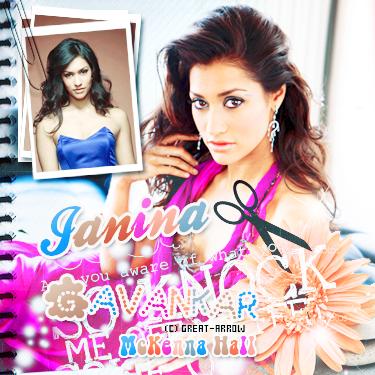 ■ Janina Gavankar  -----_-----_-----_-----_-----_-----_-----_-----_-----_-----_-----■_Décoration-----■_CréationI