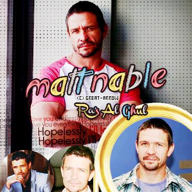 ■ Matt Nable  -----_-----_-----_-----_-----_-----_-----_-----_-----_-----_-----■_Décoration-----■_CréationI