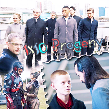■ Legends Of Tomorrow : Episodes 1x09 & 1x10 -----_-----_ -----_-----■_Décoration-----■_CréationI