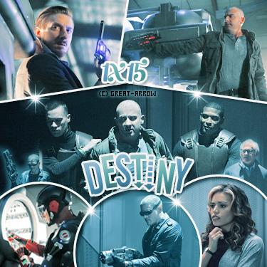 ■ Legends Of Tomorrow : Episodes 1x15 & 1x16 -----_-----_ -----_-----■_Décoration-----■_CréationI