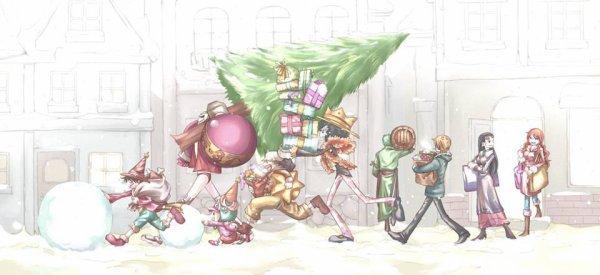La découverte de Noël