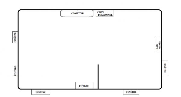 Plan du restaurant