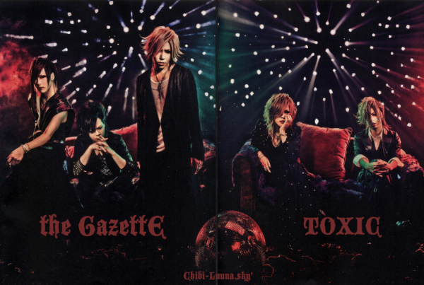 - the GazettE 「TOXIC」 review -
