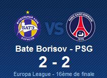 Episode 1:     Le PSG ne tremble pas devant le BATE Borisov