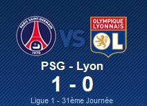 PSG 1-0 Lyon