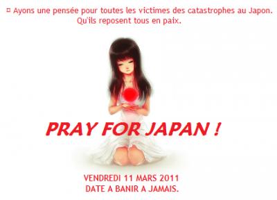 [ Pray For Japan ♥ ]