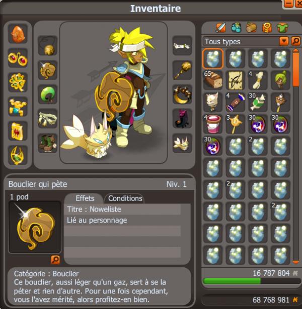 L'irrésistible Oeuf jaune : Dofus Ocre