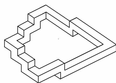escalier infini illusions d 39 optique. Black Bedroom Furniture Sets. Home Design Ideas