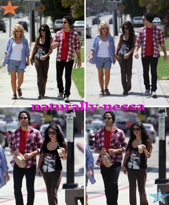 Vanessa & ses co-stars le 31 juillet
