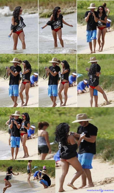 Zanessa à Hawaii