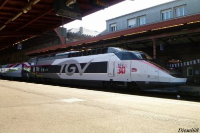 30 ans du TGV a Strasbourg