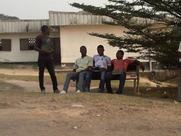 la belle époque à la faculté de Douala