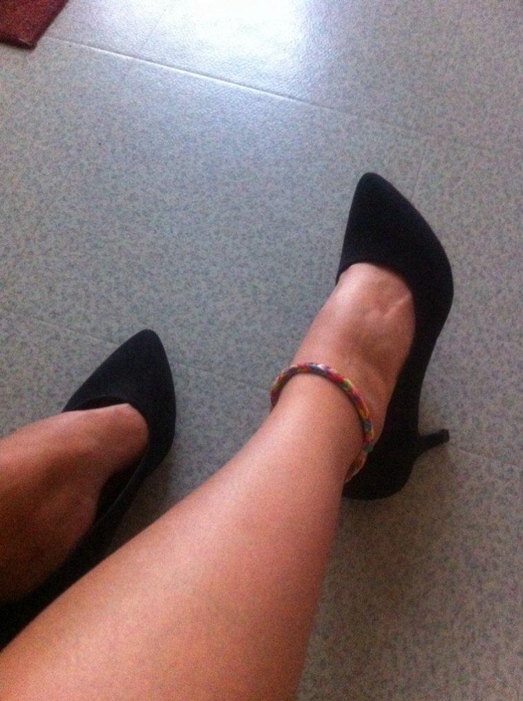 Mes première chaussures à talon