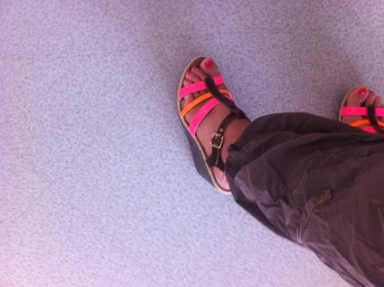 Nouvelle chaussure