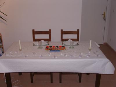 La table de leur t te a t te du 31 decembre for Table 31 decembre