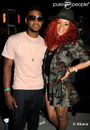 Rihanna , En couple avec Usher ?