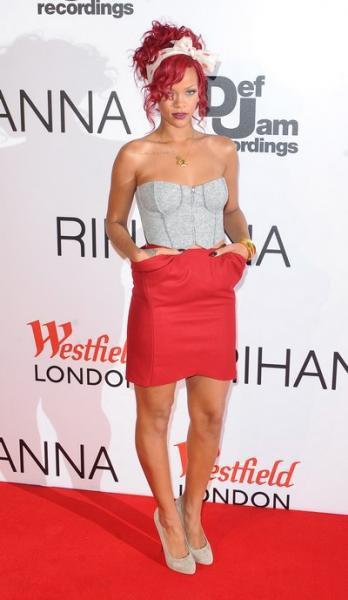 Rihanna : photos d'un style tout en décadence !