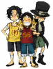 One Piece Ending : Ace, Sabo & Luffy ♥