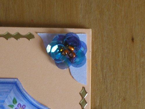 """Carte 3D """"bouquet au cadre"""""""