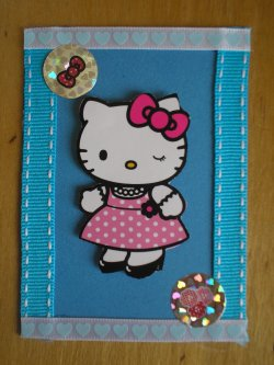 ATC Sarah Kay et Hello kitty